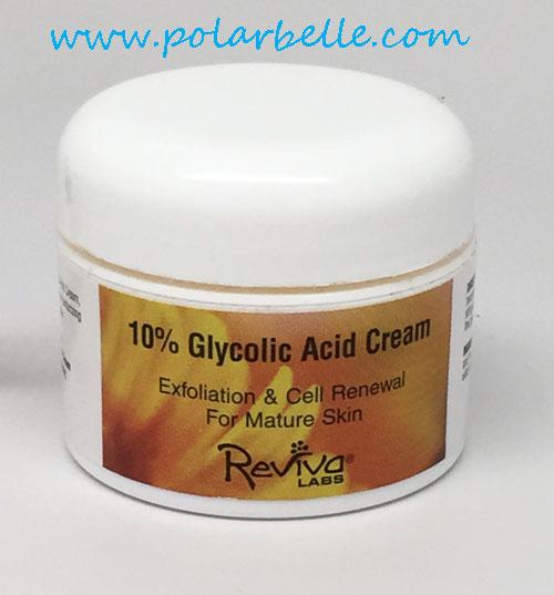 Glycolic cream 10
