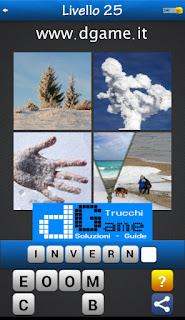 PACCHETTO 6 Soluzioni Trova la Parola - Foto Quiz con Immagini e Parole livello 25