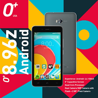 O+ 8.96z Unveiled, 5-inch Quad Core Android Smartphone for Php3,395
