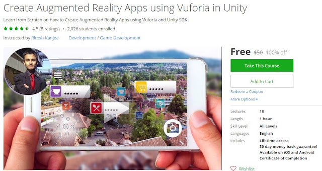 Create-Augmented-Reality-Apps-using-Vuforia-in-Unity