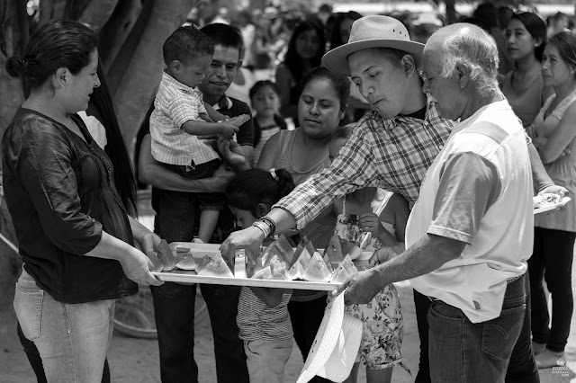 Fiestas y tradiciones de Oaxaca fruta fresca