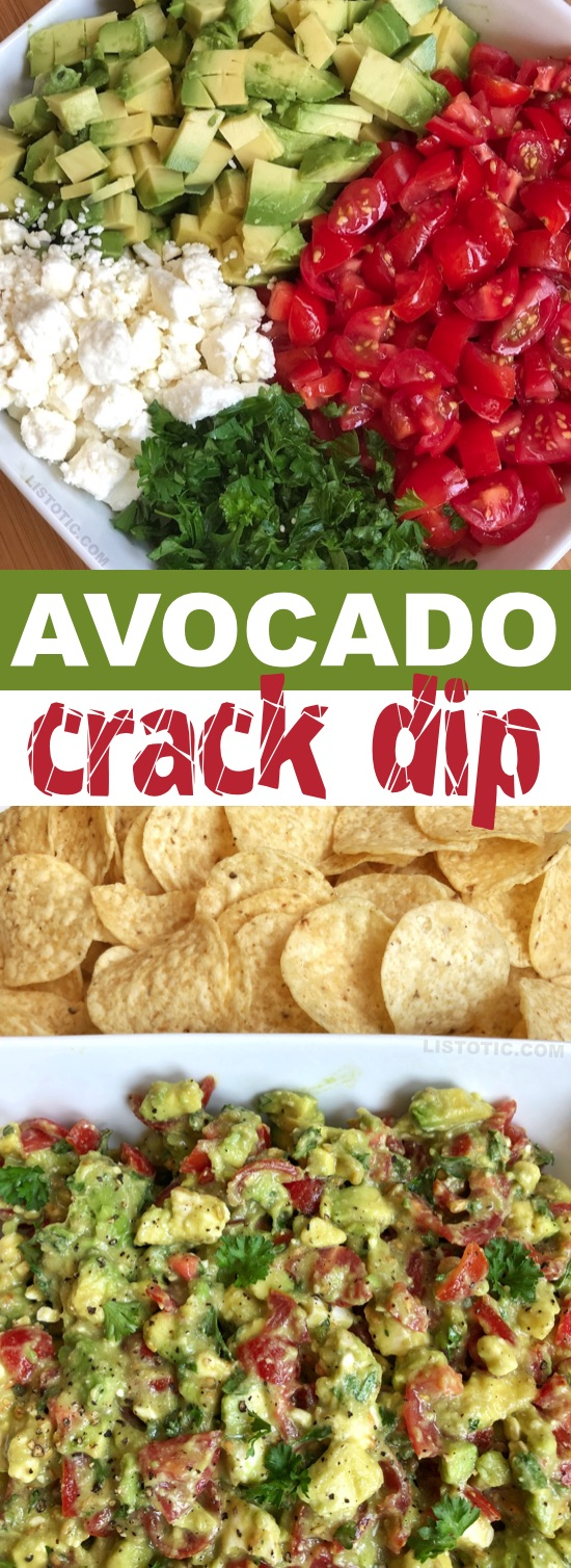 Avocado Crack Dip Recipe