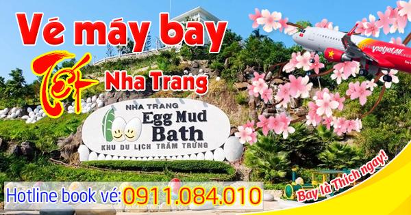 vé Tết 2018 đi Nha Trang hãng Vietjet Air