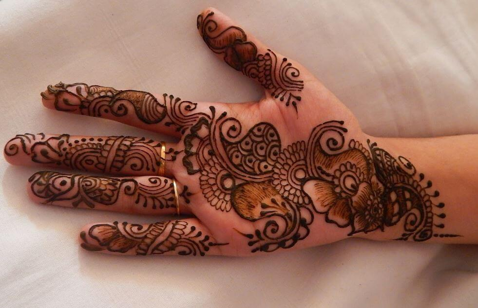 Mehndi Easy Design : Latest mehndi designs for girls simple easy