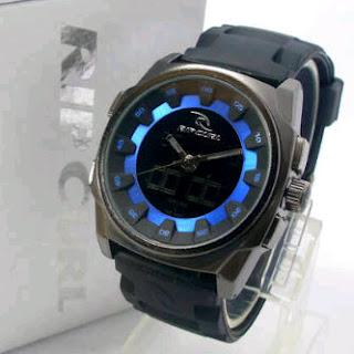 jam tangan ripcurl black jam tangan ripcurl bronx original