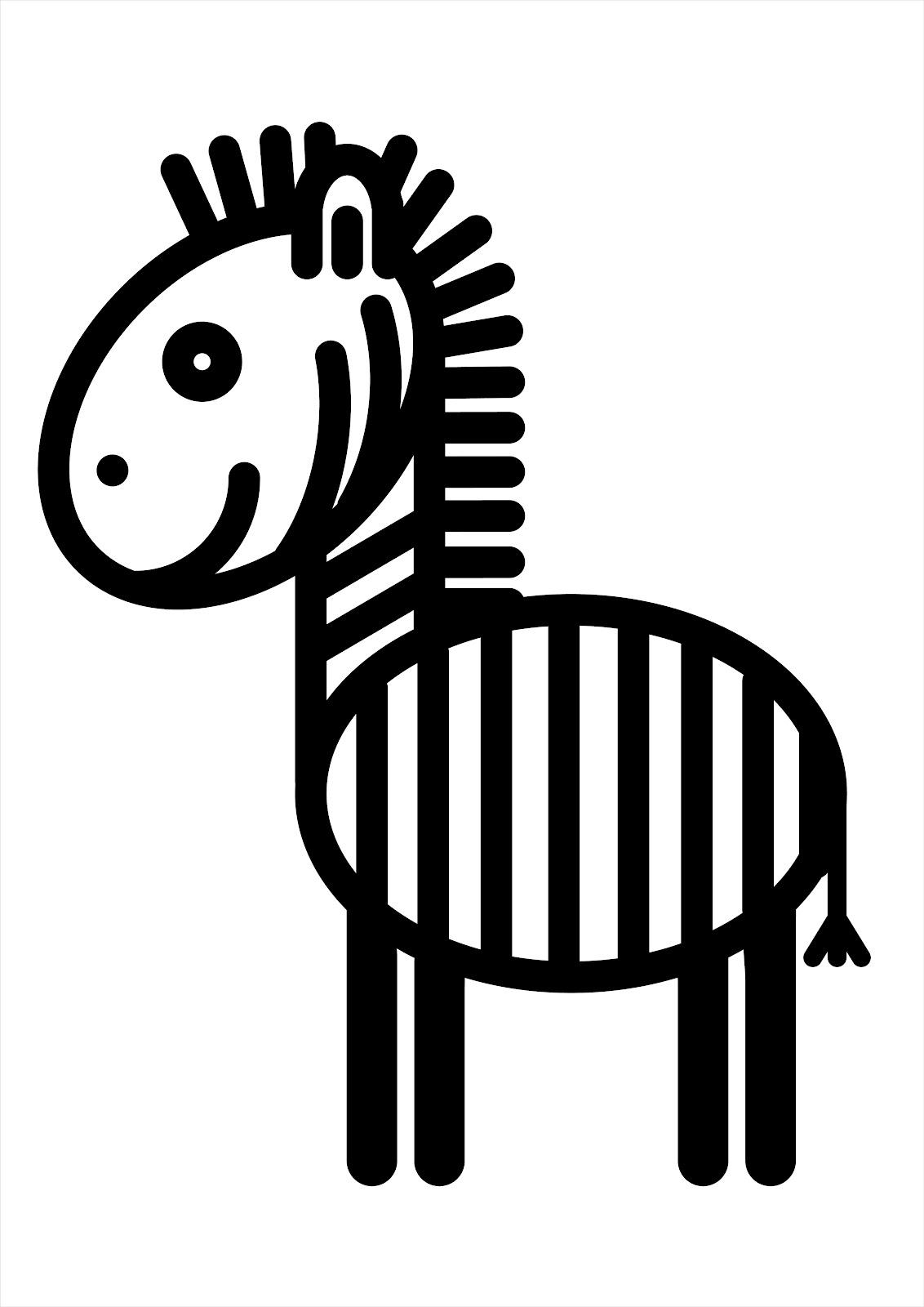 .: Черно-белые картинки для малышей