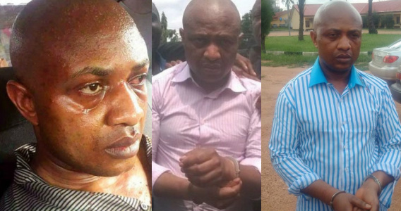 evans kidnapper change clothes shower detention