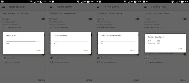 Cara Mudah Backup/Restore SMS & Panggilan Di HP Android