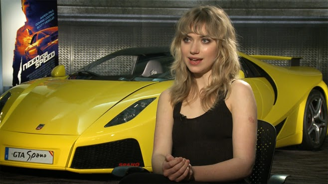 Car Girl Imogen Poots From Need For Speed
