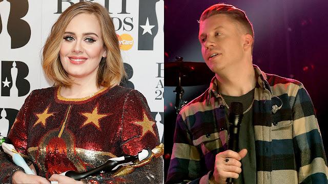 Adele rechazó colaborar en el nuevo disco de Macklemore & Ryan Lewis.