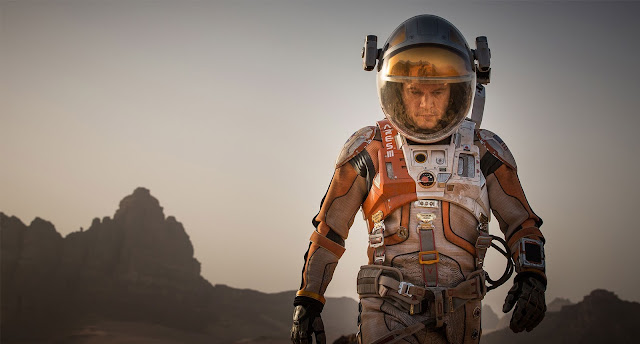 Matt Damon image from The Martian movie