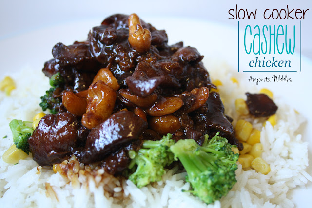 Anyonita Nibbles: Slowcooker Cashew Chicken