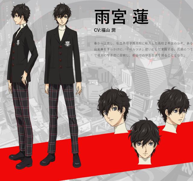 El anime de Persona 5 The Animation se estrenará en abril de 2018
