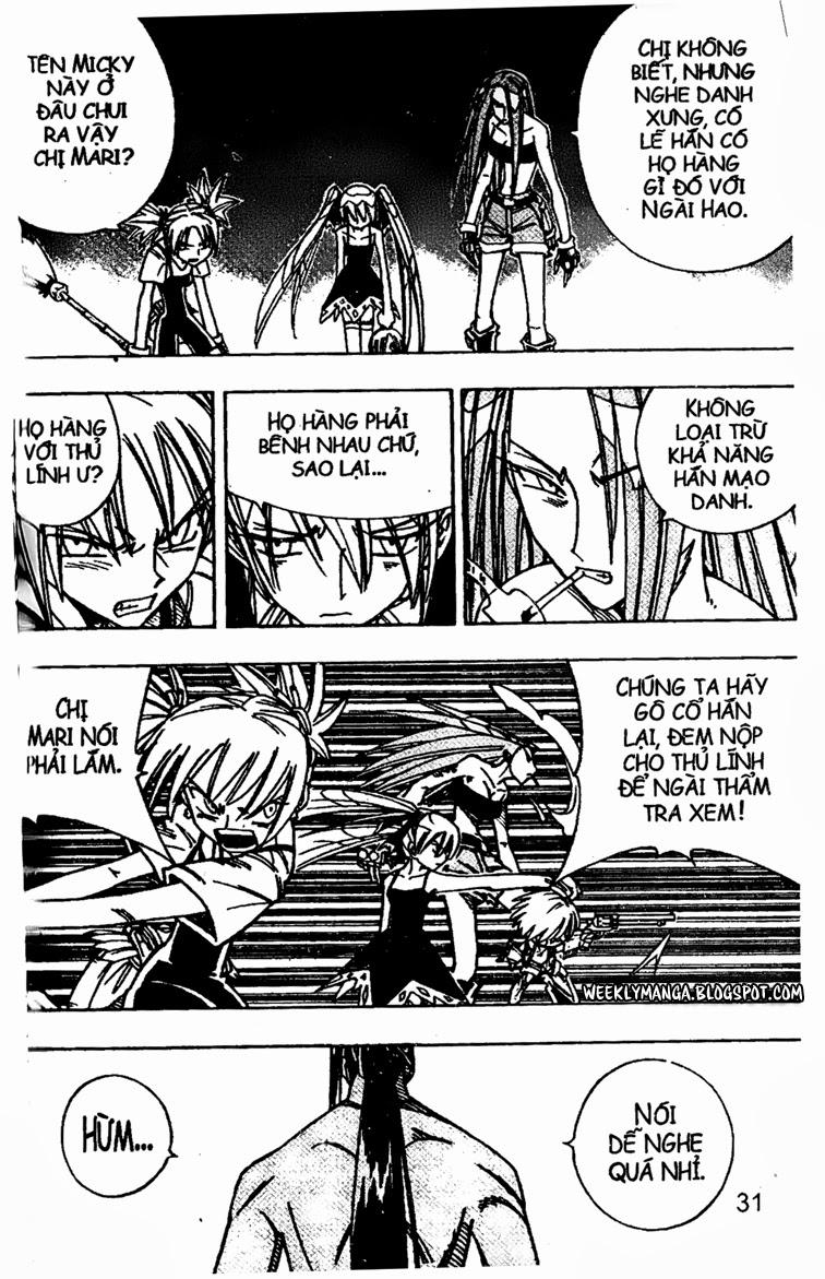 Shaman King [Vua pháp thuật] chap 161 trang 11