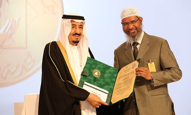 RUMORS OF DR ZAKIR NAIK SAUDI CITIZENSHIP