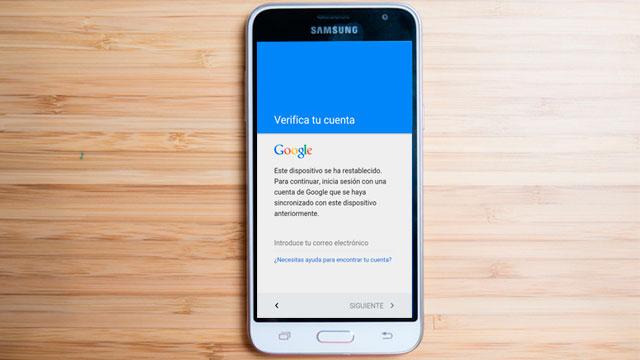 Cómo eliminar - quitar cuenta Google Samsung Galaxy J3