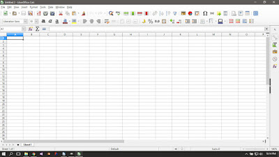 Libre Office Calc Running on Windows 10