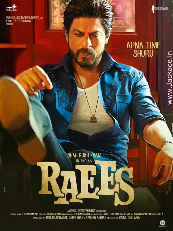 Raees Posters