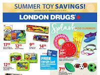 London Drugs Summer Toy Savings valid June 23 - July 12, 2017