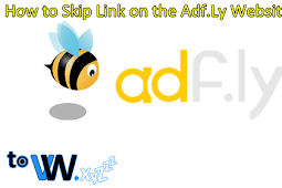 How to Skip Link on the Adf.Ly Website