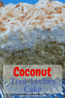 Coconut Tres-Leches Cake