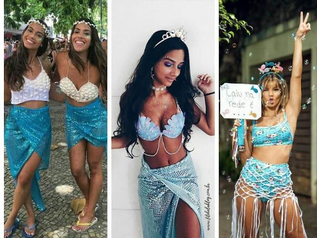 fantasia de sereia para o carnaval