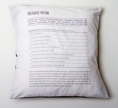 Polyjuicepotion Pillowcase