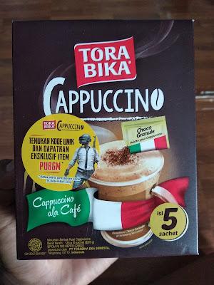Cara Reendem Kode PUBG Mobile dari Torabika Cappucino