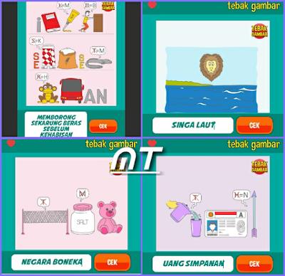 Jawaban tebak gambar level 70 nomor 17-20