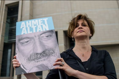 Court sentenced six Turkish journalists to life in jail for coup links A Turkish court sentenced six...
