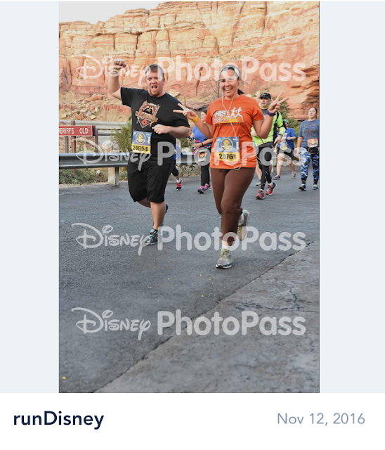 Disney Avengers Half Marathon running