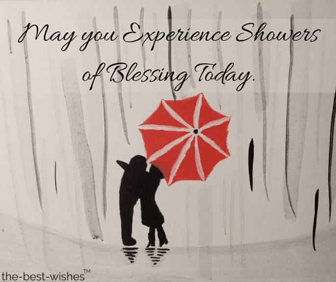 have a romantic monsoon