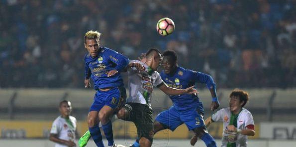 Video Cuplikan Gol Persib Bandung vs PS TNI 3-1