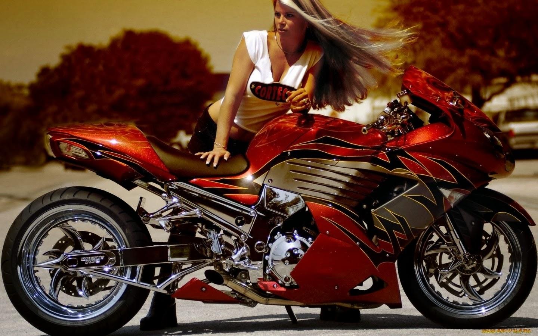 sexy girls bikes wallpapers - photo #34