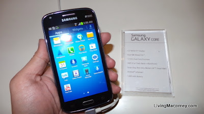 The Samsung Galaxy Core (P11,990)