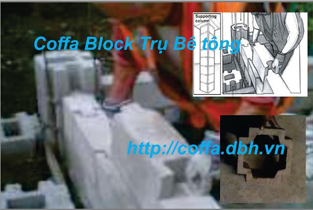 Block tạo Tạo trụ và Tường
