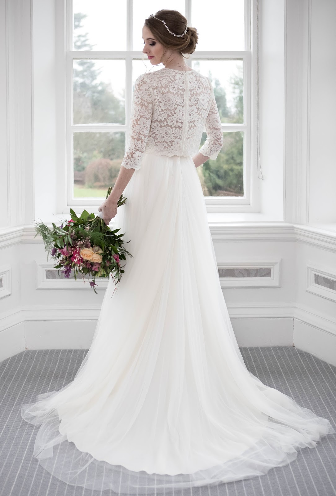Styling Bridal Separates Lace and Tulle