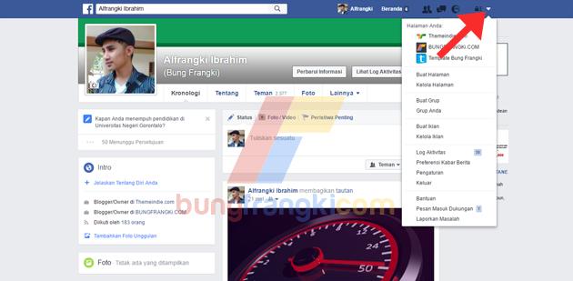 Cara Menggabungkan Halaman Fanpage FB