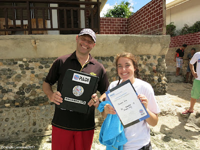 Testimonial by Jessica of the November 2017 PADI IDC in Moalboal, Philippines