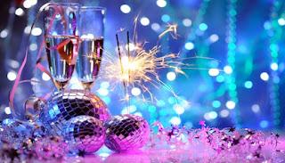 happy new year drink status