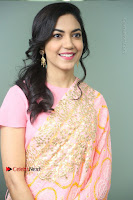 Actress Ritu Varma Pos in Beautiful Pink Anarkali Dress at at Keshava Movie Interview .COM 0131.JPG