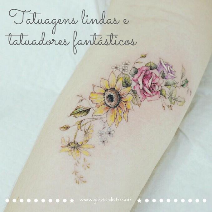 Tatuagens lindas e tatuadores fantásticos do instagram
