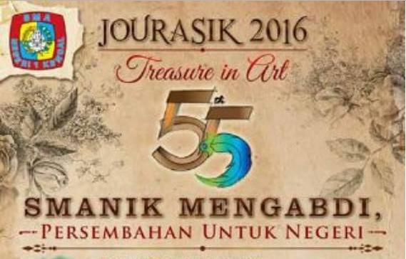 "Event Kendal | 13 - 19 Oktober 2016 | Jurasik 2016 "" Peringatan Hari Ulang Tahun SMAN 1 Kendal ke 55"""