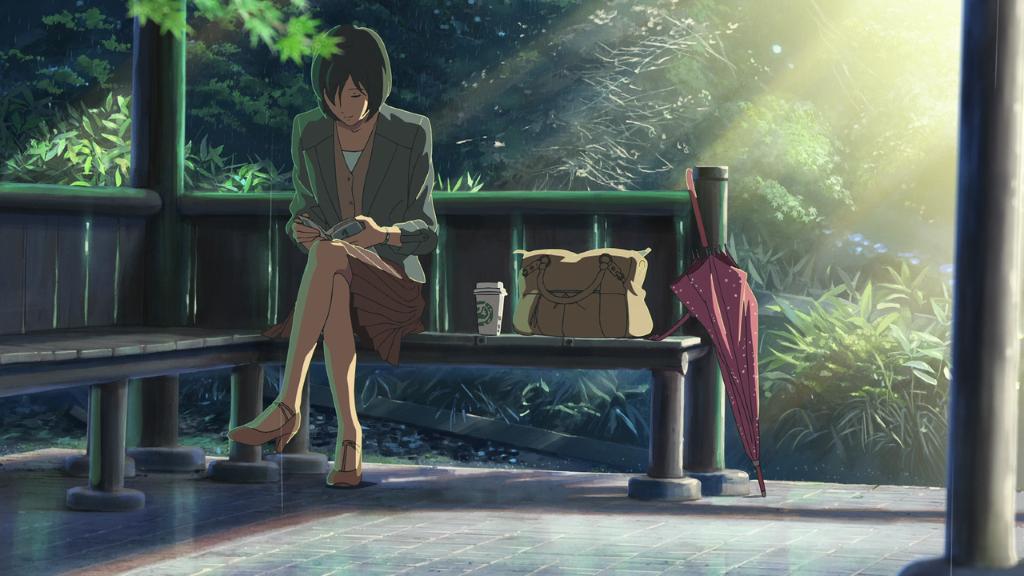 Mikehattsu Anime Journeys The Garden Of Words Park