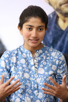 Sai Pallavi looks super cute in plain dress at her interview in Telugu about movie Fidaa ~ Exclusive Celebrities Galleries 017.JPG