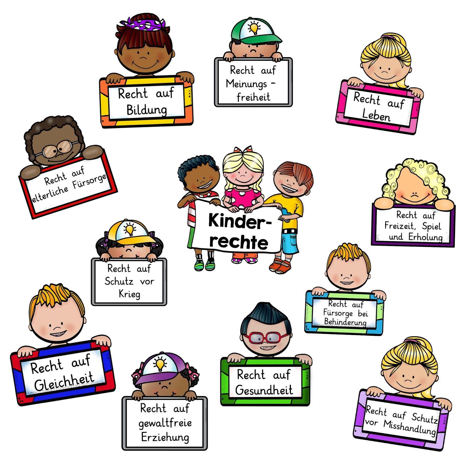 20 Kinderrechte Ideen   kinderrechte, kinder, grundschule
