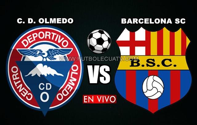 Olmedo se mide ante Barcelona SC en vivo 📱 a partir de las 13h00 horario de nuestro país por la ✅ fecha 30 de la Liga Pro a realizarse en el Estadio Fernando Guerrero, teniendo como árbitro principal a Oscar Proaño siendo emitido por la señal autorizada GolTV Ecuador.