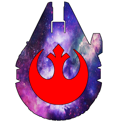 Star Wars - Millennium Falcon Rebel Galaxy Tattoo Idea