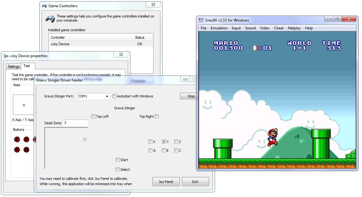 Gravis Stinger Driver for Windows XP, Vista, 7 | Write code