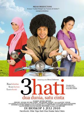Film Gratis 3 Hati Dua Dunia, Satu Cinta (2010)